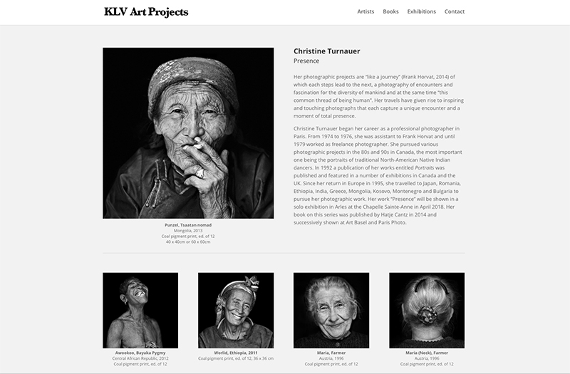 KLV – Art Projects – Website & Hosting by Zeiller.eu