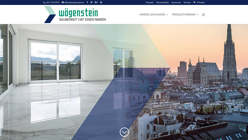 Wögenstein Website