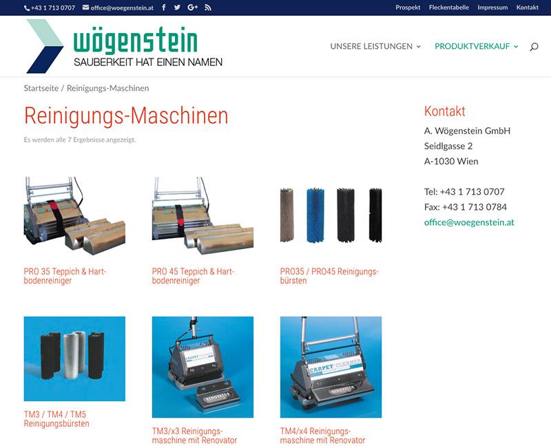 Wögenstein Webshop